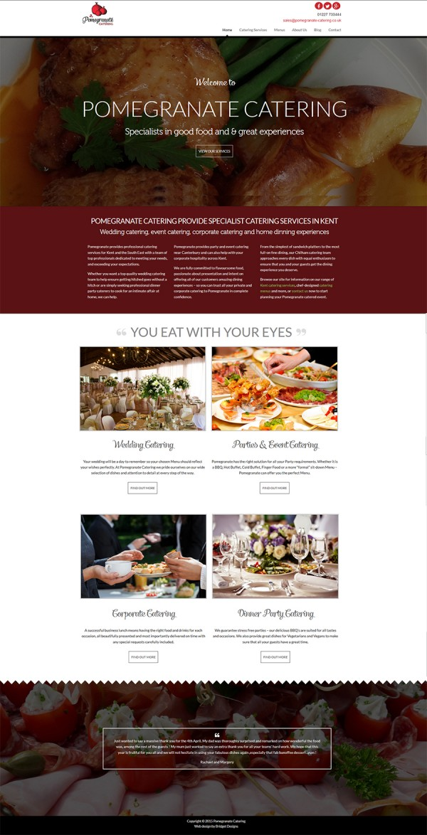 Pomegranate Catering