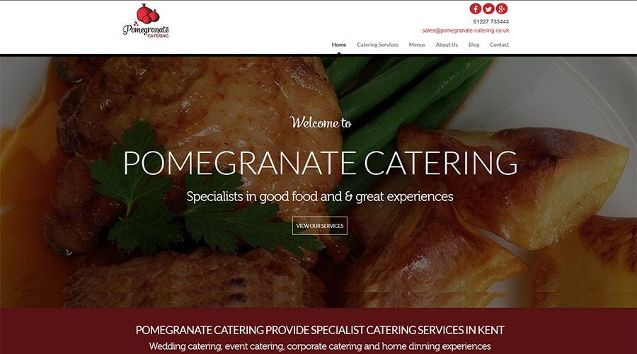 Pomegranate-Catering