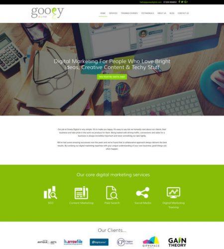 Gooey Digital - Digital Marketing Website
