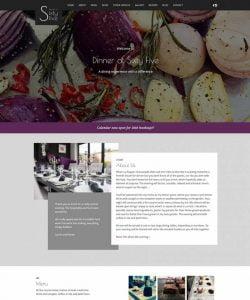 Dinner At Sixty Five Restuarant Website Design