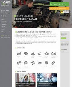 Oaks Vehicle Service Centre Website Kent