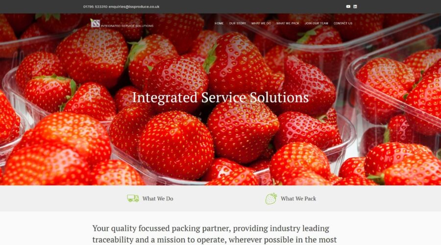 Integrated Service Solutions Website Design