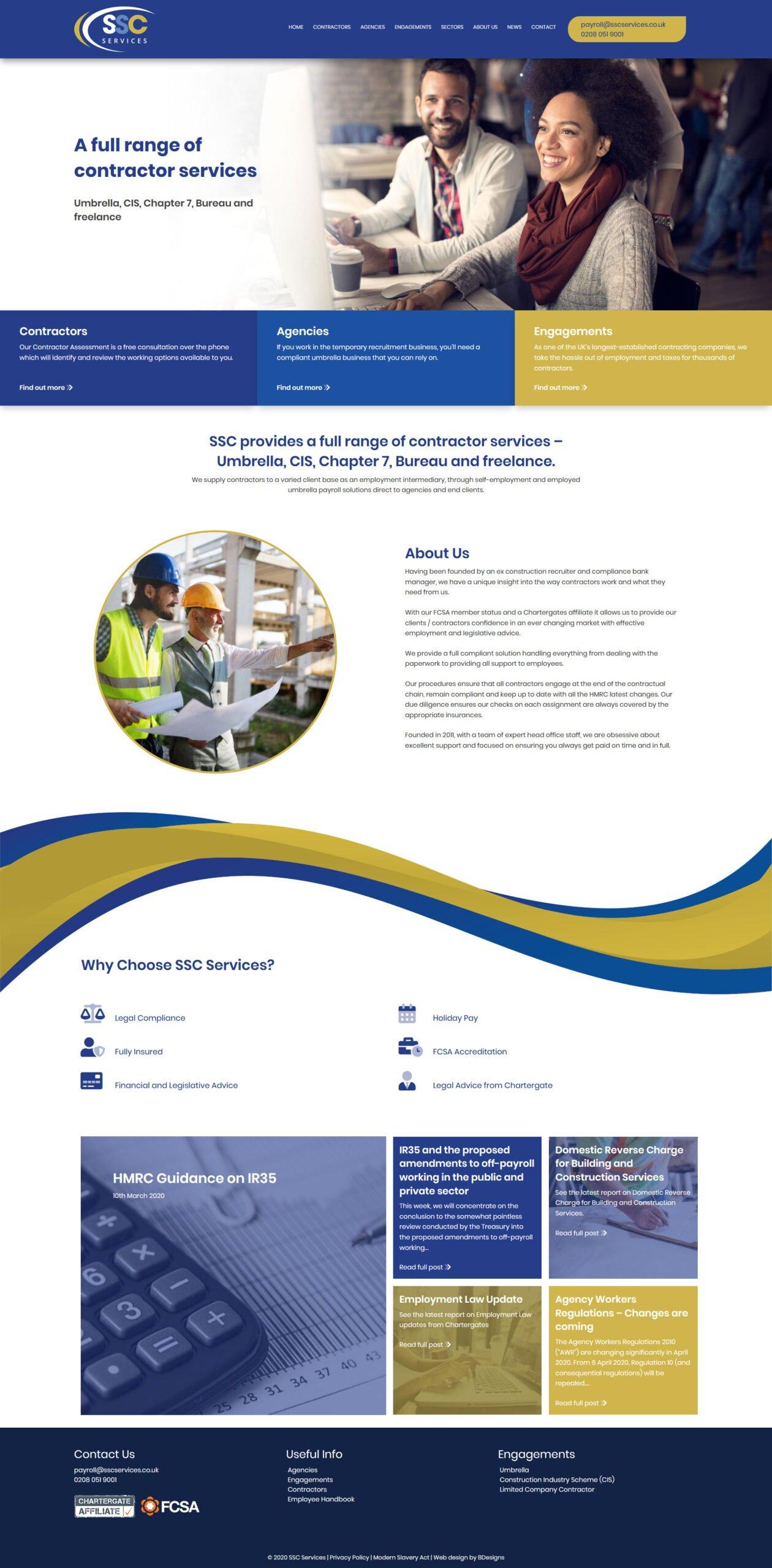 SSC Services Umbrella, CIS, Chapter 7, Bureau and freelance