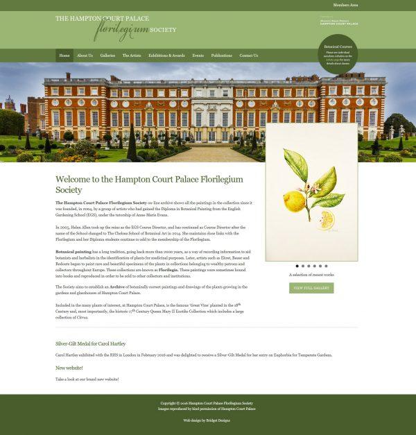 Hampton Court Palace Florilegium Society