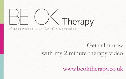 Be Ok Therapy Business Card