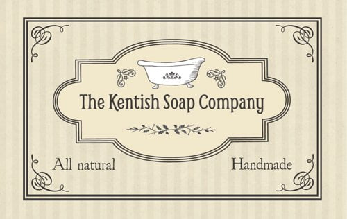 The Kentish Soap Company Business Card