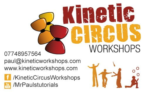 Kinetic Circus Business Card