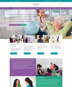 The Minded Institute Website Design