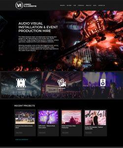 Video Illusions Audio Visual Production Website