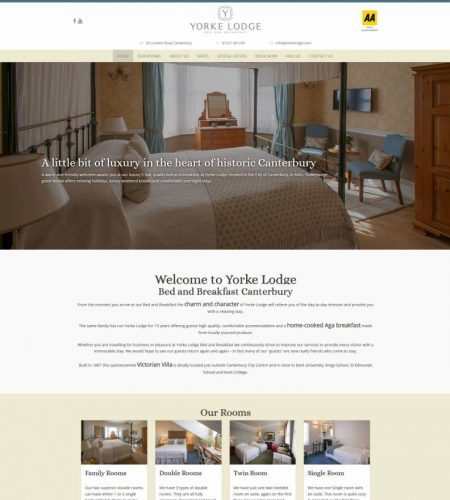 B&B Website Design